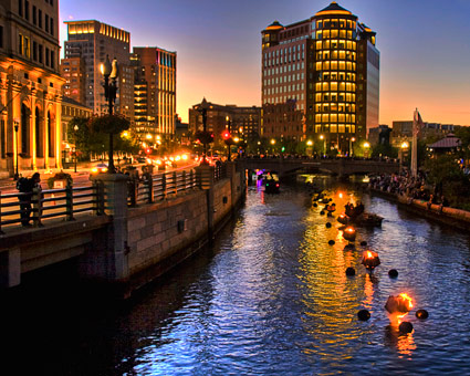 Plan a WaterFire visit