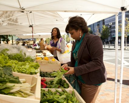 Downtown Farmers Market: Tuesday afternoons
