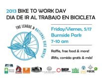 Bike to Work Day 2013 Flyer