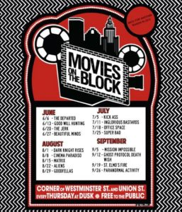 2013 movies on the block