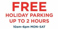 free holiday parking feature