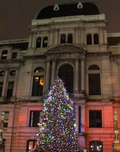 city hall tree