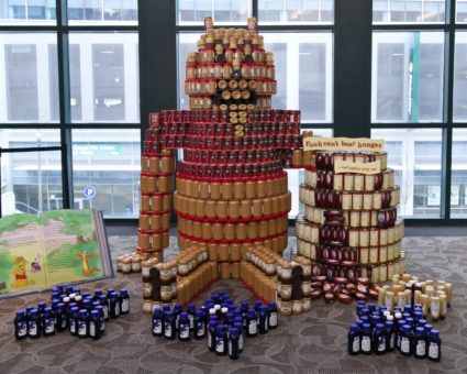 Canstruction® RI sculpture competition