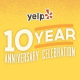 yelp 10 year