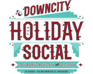 downcity holiday social feature