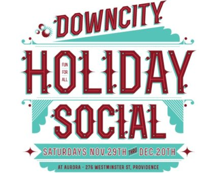 Spend your Saturdays at the Downcity Holiday Social