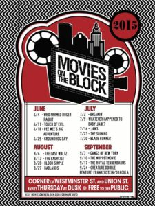 movies on the block poster 2015