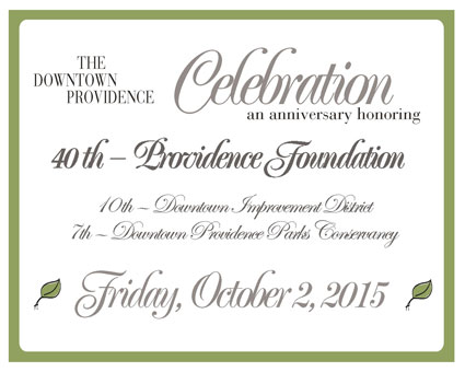 Save the date for the Downtown Providence Celebration