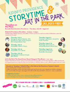 storytime art in the park 2015