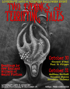 Halloween Readings poster small
