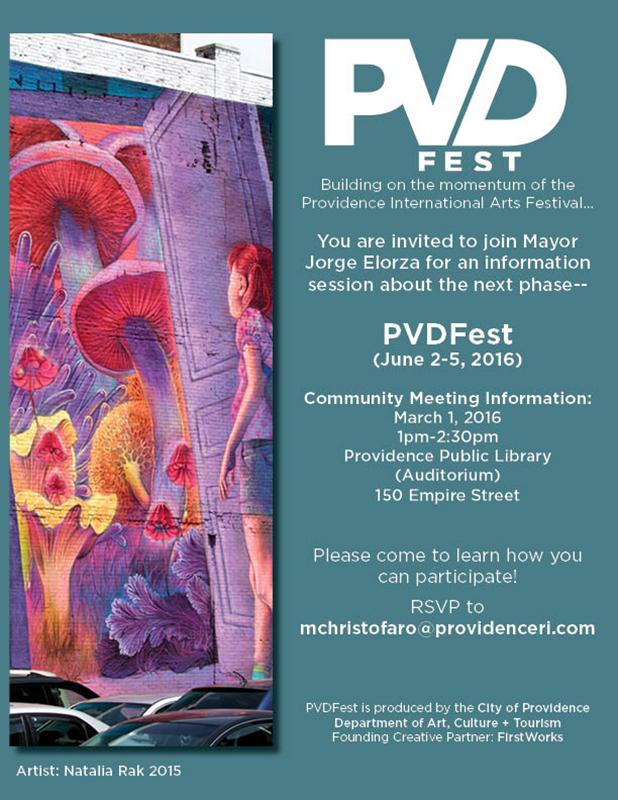 PVD fest invite