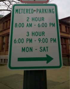 parking signs sm