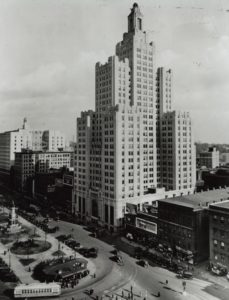 the-industrial-trust-building-kennedy-plaza-1936