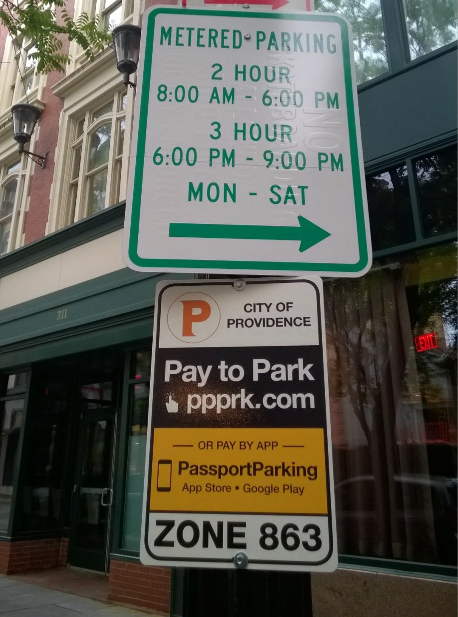 New App For Providence Parking Meters