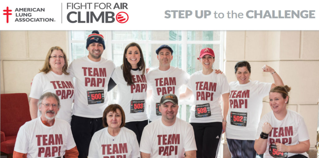 Fight For Air Climb - March 24