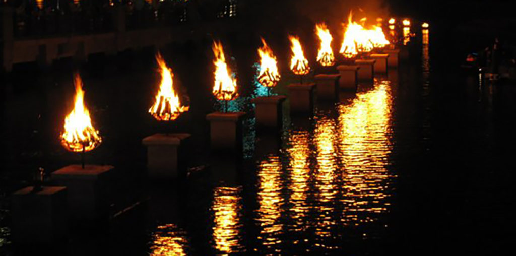 Experience WaterFire this summer