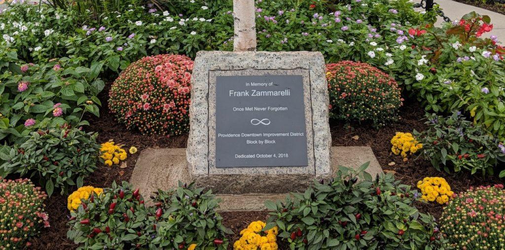 Garden named in honor of Frank Zammarelli